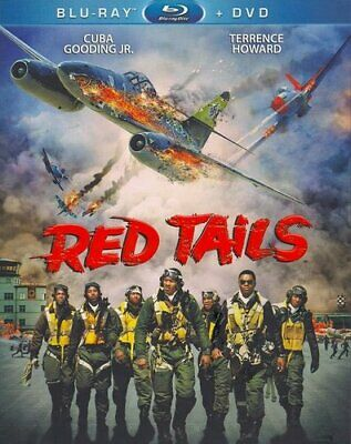 Red Tails (2 Disc, Blu-ray + DVD) BLU-RAY NEW