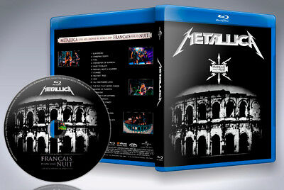 Metallica Francais PourUne Nuit  French Live Concert 2009  Blu-ray new