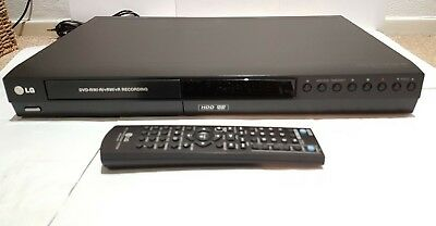 LG RH 256 DVD Recorder 160GB HDD Recorder DVD-RW / -R/+R  Incl Remote Control