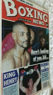 July 14Th  1995 Boxing News How The Fans Rate Britains Best