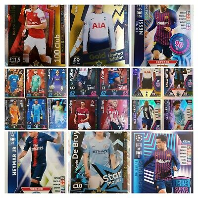Match Attax 2018/19 Champions / Premier League / 100 Club / Limited Edition