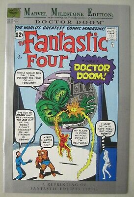 Marvel Comics Milestone Edition: Fantastic Four #5 1St Appearance Of Doctor Doom