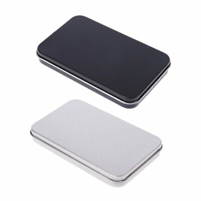 Organizer Case Small Metal Tin Storage Box For Makeup Sticker Money Coin Key