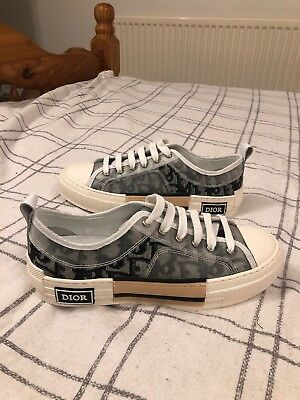 DIOR X KIM JONES - B23 HIGH-TOP SNEAKERS IN DIOR OBLIQUE - £1 f031f7d65