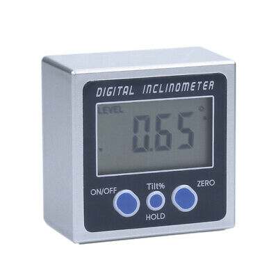 Digital Inclinometer 0-360° Electronic Protractor Bevel Angle Gauge Meter U9C7