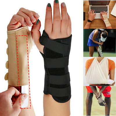 Breathable Wrist Support Splint for Hand Sprain Injury Carpal Tunnel Pain Relief