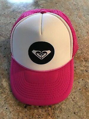 692c02a67778a Hat Girls Women s Pink ROXY Adjustable Baseball Cap Beach Sun Outdoor Sports