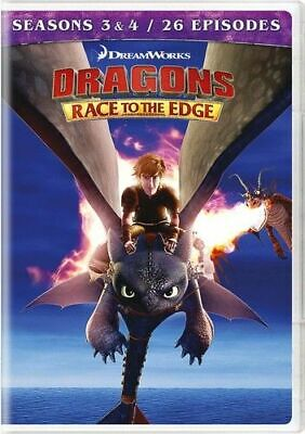 Dragons: Race To The Edge - Seasons 3 & 4 New Dvd