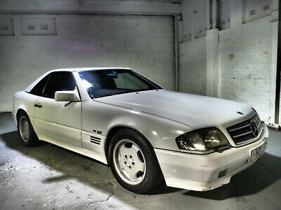 1990 Mercedes SL 500 R129 Lorinser rare car 60k ,Hong kong Import