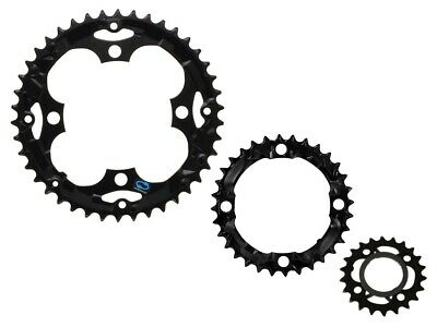 Shimano SG-X 22t 32t 42t Chainrings Sprocket set 7//8//9-speed for MTB City Bike