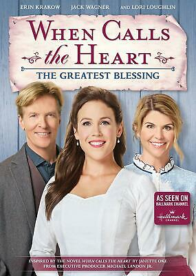 When Calls The Heart: Greatest Blessing (DVD, 2019) NEW FREE SHIPPING
