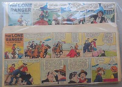 (33) Lone Ranger Sunday Pages by Fran Striker and Charles Flanders from 1947