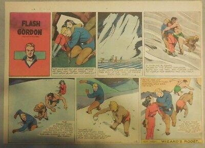 (52) Flash Gordon Sunday Pages by Austin Briggs from 1947 Complete Year!