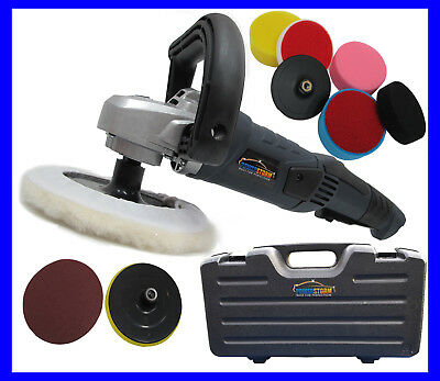 Car Polisher Buffer Sander Polish Platinum Pack