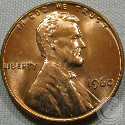 1960-P Large Date Unc Lincoln Memorial Penny Nice Coin **Make An Offer**