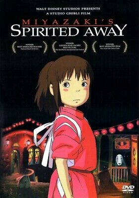 Hayao Miyazaki's Spirited Away (DVD 2001) - DISNEY STUDIO GHIBLI - VERY GOOD
