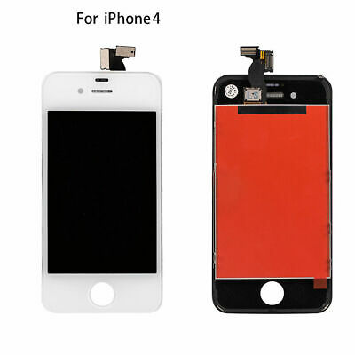 For Apple iPhone 4 LCD and Screen Digitizer Black Replacement Display Assembly