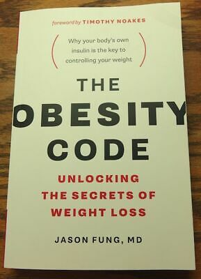 The Obesity Code Jason Fung Unlocking The Secrets Of Weight Loss Paperback NEW