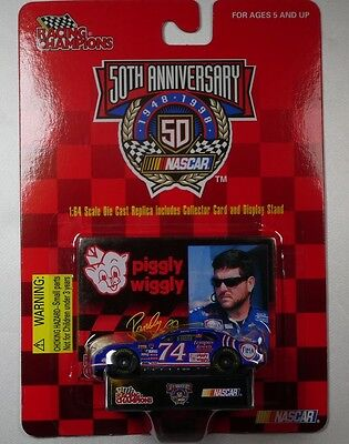 RACING CHAMPIONS STOCK CAR NASCAR 1/64 SCALE RANDY LAJOIE #74 Piggly Wiggly
