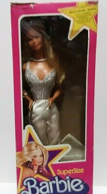 1976 Barbie SuperSize Barbie with Box! VHTF Barbie Mattel Doll