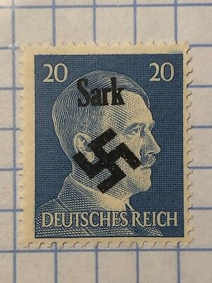 GERMANY GREAT BRITAIN (Sark) WWII-GERMAN OCCUPATION 20 Pfg. MNH  Priv. Issue /s2
