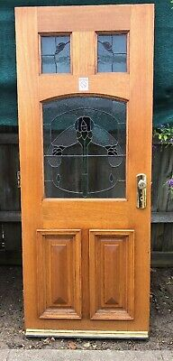 Stained glass door NO KEY