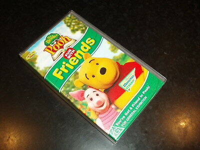 VHS VIDEO TAPE ~ Disney The Book of Pooh ~ Fun With Friends ~ Playhouse