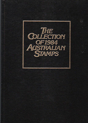 1984 Australia post Year Album of Mint Stamps