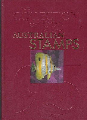 1995 Australia post Year Album of Mint Stamps