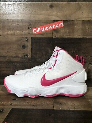 ae70cca1ee3a NEW NIKE HYPERDUNK 2017 Size 14 Kay Yow Cancer Awareness 897631 100 ...