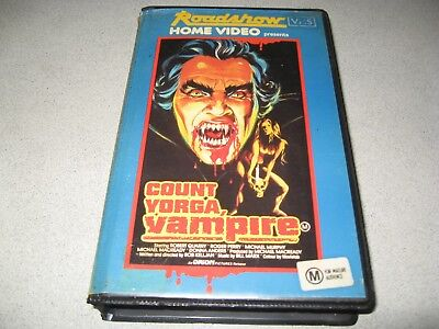 Count Yorga Vampire *Rare and very hard to find Roadshow Horror*