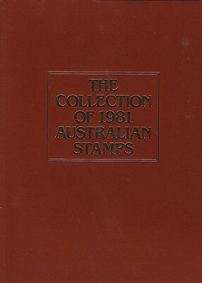 1981 Australia post Year Album of Mint Stamps