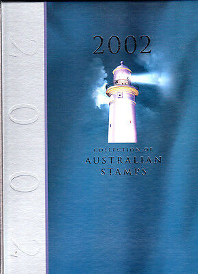 2002 Australia Post Year Album  Mint Stamps Attractive