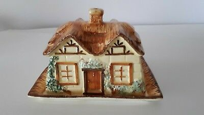 Cottage Ware Keele Street England Lidded Butter / Cheese Dish