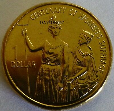 2003 $1 Coin UNC EX MINT ROLL. Women's Suffrage.