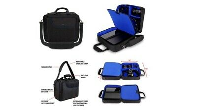 USA GEAR Playstation 4 Slim & PS4 Pro Case Travel Console Carrying Bag W Control