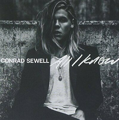 Conrad Sewell - All I Know CD NEW