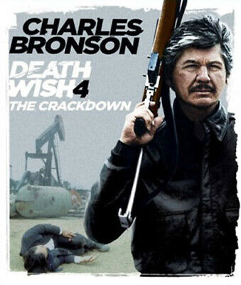 Death Wish 4: The Crackdown BLU-RAY NEW