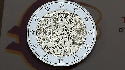 2 euro 2019 Germania Muro Berlin Deutschland Allemagne Alemania Germany A D F GJ
