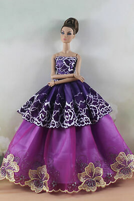 Fashion Princess Party Dress/Evening Clothes/Gown For 11.5 inch Doll a07