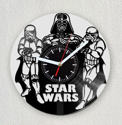STAR WARS DXF CDR AI For CNC Plasma Laser Cut - Only Cutting File Vinyl  Clock