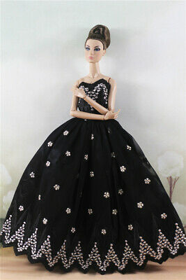 Fashion Princess Party Dress/Evening Clothes/Gown For 11.5 inch Doll a14
