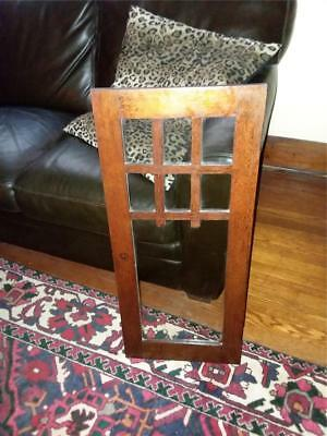 Vintage 1920 Mission Oak Cabinet Door......perfect For That Project