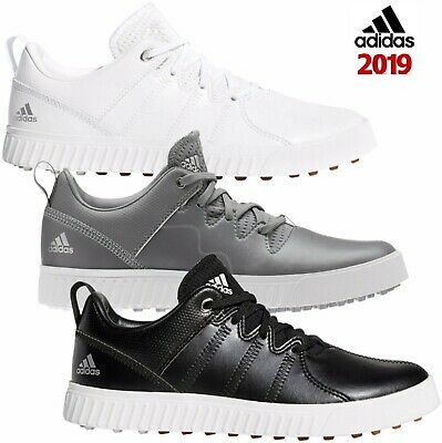 ed4460faf29 Adidas 2019 Junior Adicross PPF Kids Leather Spikeless Golf Shoes Trainers