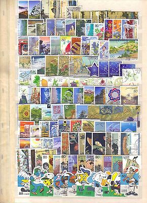9855- Japan, collection of used stamps – all complete sets
