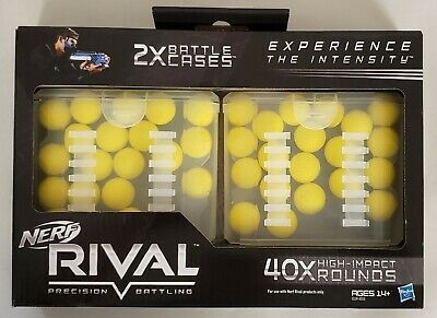 New - Nerf Rival Precision Battling 40x High Impact Round Refill Packs