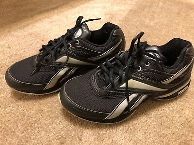 Reebok Women Size 8 Easy Tone Black Smooth Fit Athletic Sneakers Shoes  Training 659478c0c