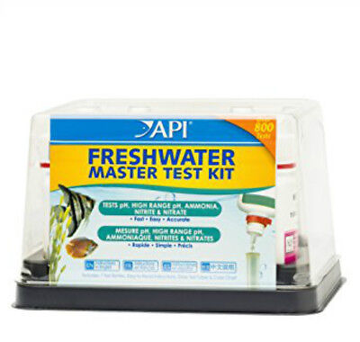 *api* Freshwater Master  Test Kit - Perfect For Tropical Aquarium , Easy To Use.