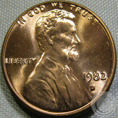 1982-D Unc Cld Lincoln Memorial Penny Nice Coin **Make An Offer**