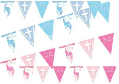 1st First Holy Communion Foil Bunting Pennant Flag Banner Party Decorations 13ft